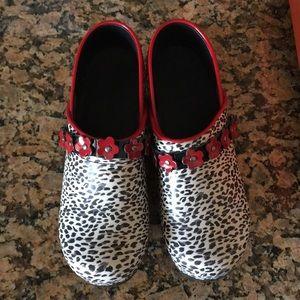 4fde7f9b377 Koi Shoes | Reduced Neon Pink By Sanita Nursing | Poshmark
